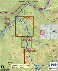 Southwest Colorado Map by Rafting In Colorado The Dolores River Ultimate Guide For White Water