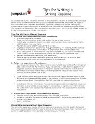 strong words for resumes strong resume resume example