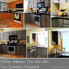 Before And After Kitchen Makeovers Kitchen Makeover Update One Year Later Jenna Burger
