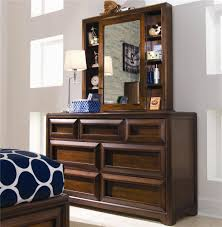 lea industries elite expressions cabinet mirror and shelves with