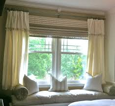 home decor interior light cream color large window curtains cozy and
