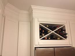 Crown Moldings For Kitchen Cabinets Stacked Moulding Country Kitchens With White Cabinets White