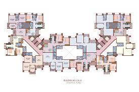 apartment building floor plans excellent 6 duplex house plans