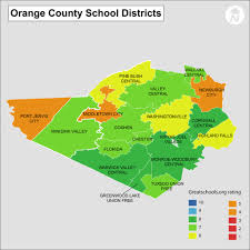 New York County Map by Orange County Ny Districts Information And