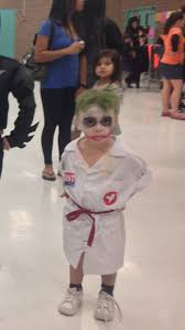 Joker Nurse Costume Halloween Diy Kid Halloween Nurse Joker Dark Knight Batman