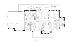 Custom Ranch Floor Plans Natural Stone Wall Custom Ranch Homes Design With Wooden Pole Can