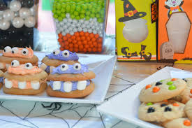 spooky monster cookies 50 candy giveaway