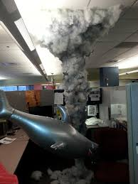 cubicle sharknado best coworker ever cubicle stuffing and