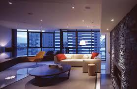 modern large garage apartment design ideas that has wooden floor