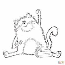 cat coloring coloring234