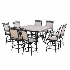 berkley jensen milan 9 pc high dining set bj u0027s wholesale club