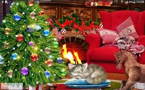 Simons Cat Christmas Tree by Christmas Eve Live Wallpaper Android Apps On Google Play