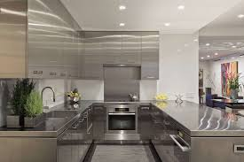 Stainless Steel Kitchen Furniture by Classy 90 Stainless Steel Kitchen Interior Design Decoration Of