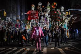 nyc halloween parade 2016 photos new york city halloween