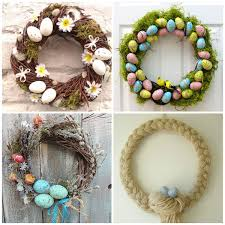 Easter Decorations For Home Awesome Front Door Easter Decoration Introduce Brilliant Small