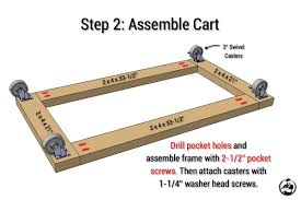 Rolling Wood Storage Rack Plans by Easy Portable Lumber Rack Free Diy Plans Rogue Engineer