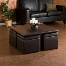2017 best of coffee table with pull out ottomans