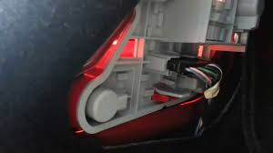 mercedes bulb replacement tail lamp brake light diy in minutes