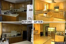 How To Remodel Old Kitchen Cabinets Diy Refinishing Old Kitchen Cabinets How To Paint Old Kitchen