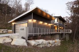 Cool Small House Plans Midwestern Modern Photo With Breathtaking Small Modern Vacation