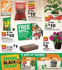 home depot weekly ad black friday home depot weekly ad april 7 17 2016 spring black friday