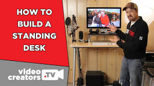 Affordable Sit Stand Desk by How I Built My Standing Desk For Cheap Youtube