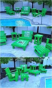 Pallets Patio Furniture - 613 best pallet outdoor furniture images on pinterest wood