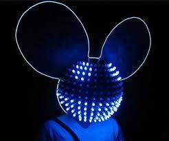 Deadmau5 Costume Halloween Led Helmet