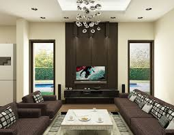 Brown And Yellow Living Room by Wood Accent Wall With Flat Screen Tv Google Search