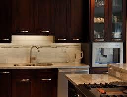 furniture chic mahogany veneer espresso kitchen cabinets with