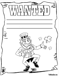 free printable leprechaun clipart 66