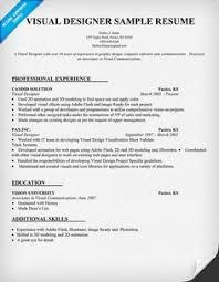 Pinterest     The world     s catalog of ideas Visual Designer Resume Template  resumecompanion com