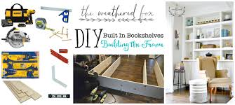 fireplace built ins part 2 building the frame the weathered fox