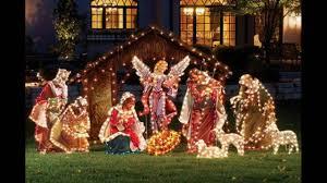 Christmas Yard Decoration Images Stunning Outdoor Christmas Displays Youtube