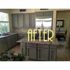 Linen Kitchen Cabinets Vintage Begonia Before And After Using Chalk Paint By Annie Sloan
