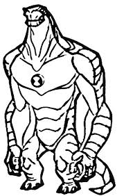 humungousaur ben 10 alien force colouring happy colouring