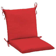 solid hampton bay attached ties outdoor chair cushions
