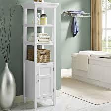 amazon com simpli home avington bath storage tower white
