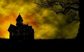 scary moon background creepy halloween backgrounds group 64