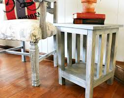 Diy Simple End Table by Diy Side Table Plans Pretty Handy