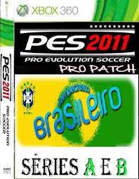 Download PES 2011 Campeonato Brasileirão 2011 Série A e B com Rivaldo Xbox 360