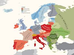 Show Map Of Europe by From To Booze These Revealing Maps Will Completely Change