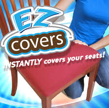 dining room chair seat covers ez covers seat covers cushion cover as seen on tv store
