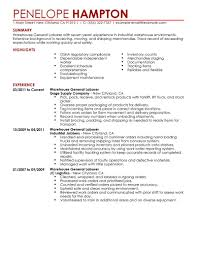 Combination Resume Format Functional Sample Resume Assistant Warehouse Manager C Susan