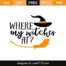 witch silhouette png where my witches at lovesvg com