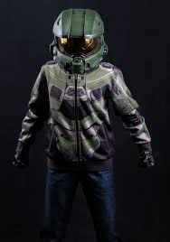 Halloween Halo Costumes Child Halo Master Chief Costume Hoodie