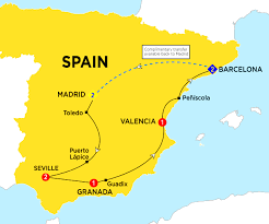 Madrid Spain Map by Spain Tour Operators Spain Tour Packages Best Selection Of