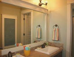 bathroom cool how to frame bathroom mirror decor idea stunning