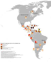 Latin America Map Labeled by Data Visualization Data Chefs