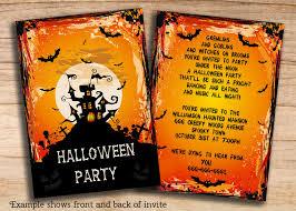diy halloween invites 30 creative halloween party invitation